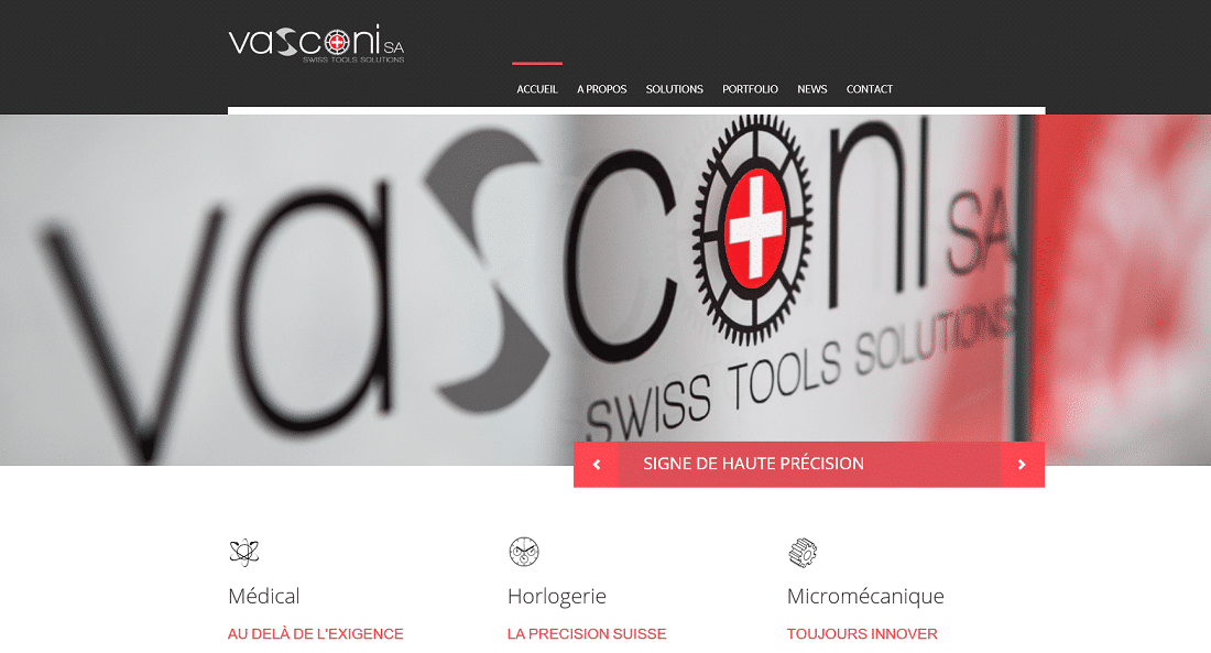Vasconi - marketing, certification, ISO9001, qualite - Admonitus